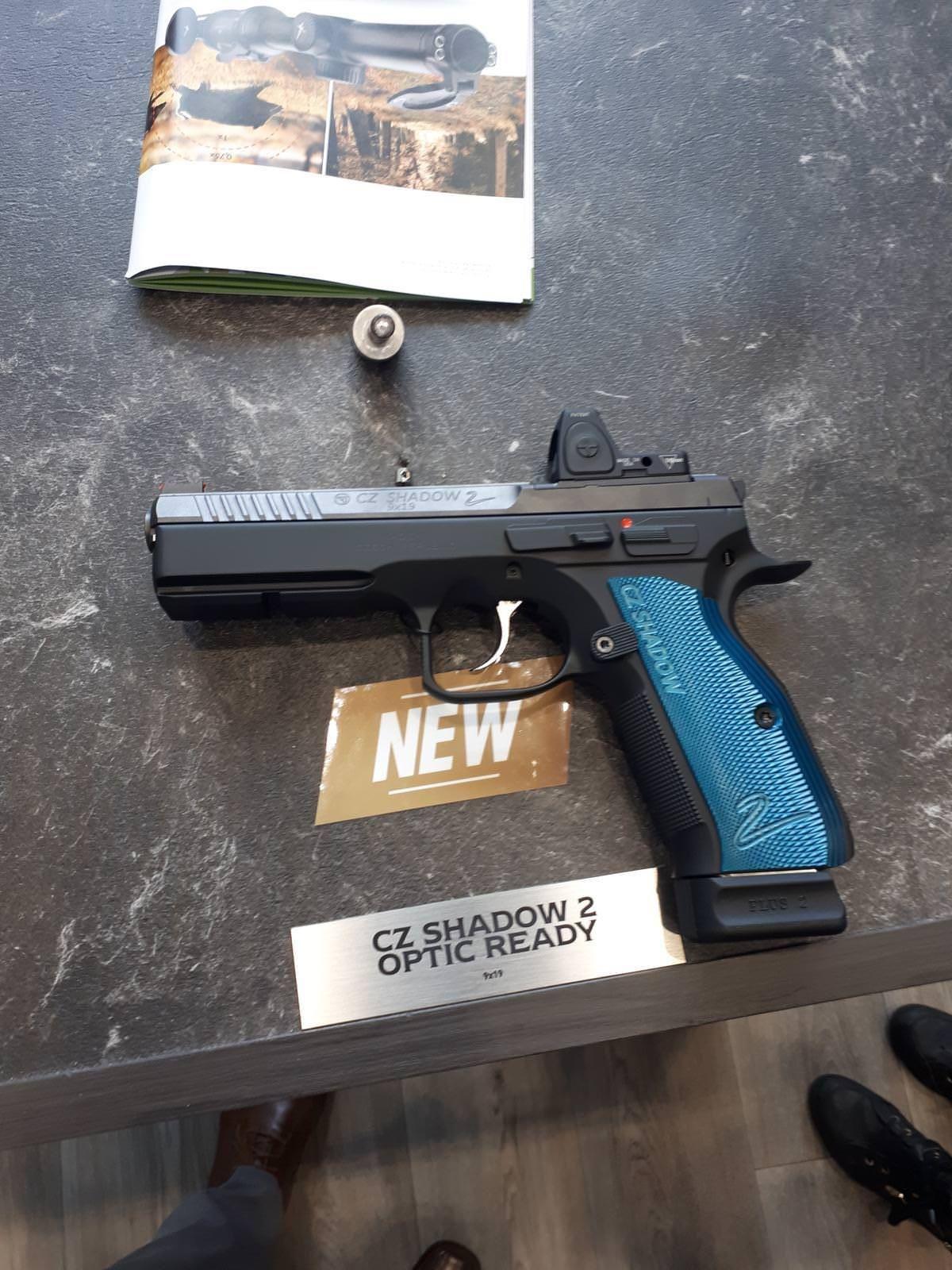CZ Shadow II Optics Ready Model! | Cz | Hand guns, Guns