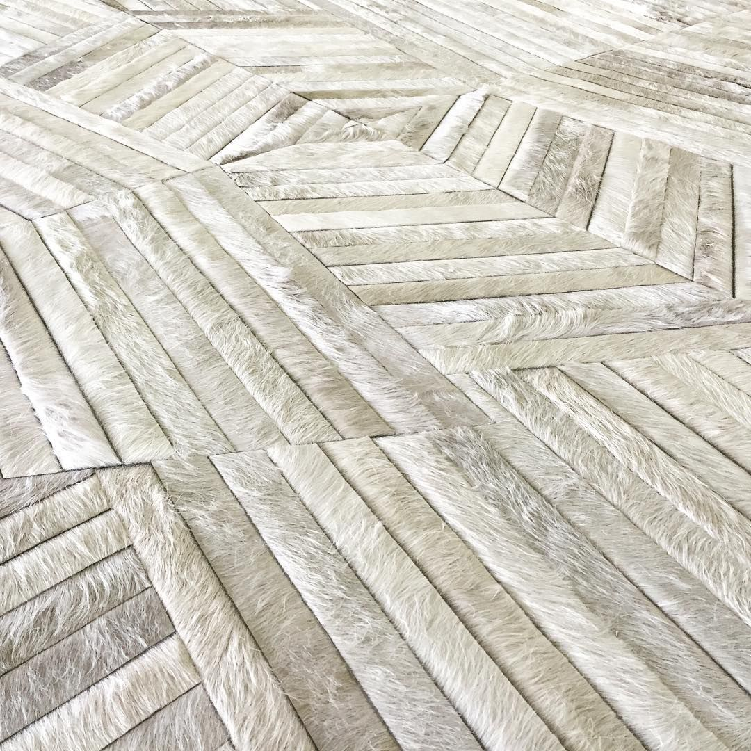 Luxurious Texture Is The Signature Of Every Kyle Bunting Hide Rug