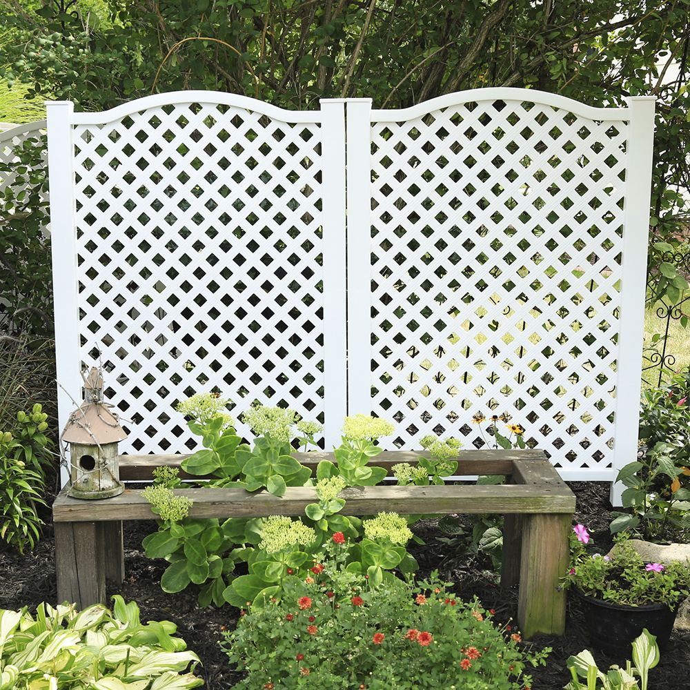 Allure Decorative Sheeting Deck Skirting Freedom Outdoor Living For Lowes Privacy Screen Outdoor Outdoor Privacy Backyard Landscaping