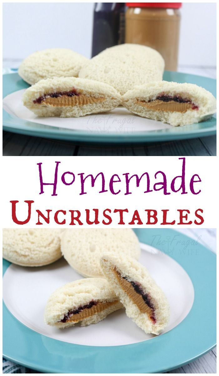 Amazing Homemade Uncrustables to Try Right Now   Super easy, Lunches ...