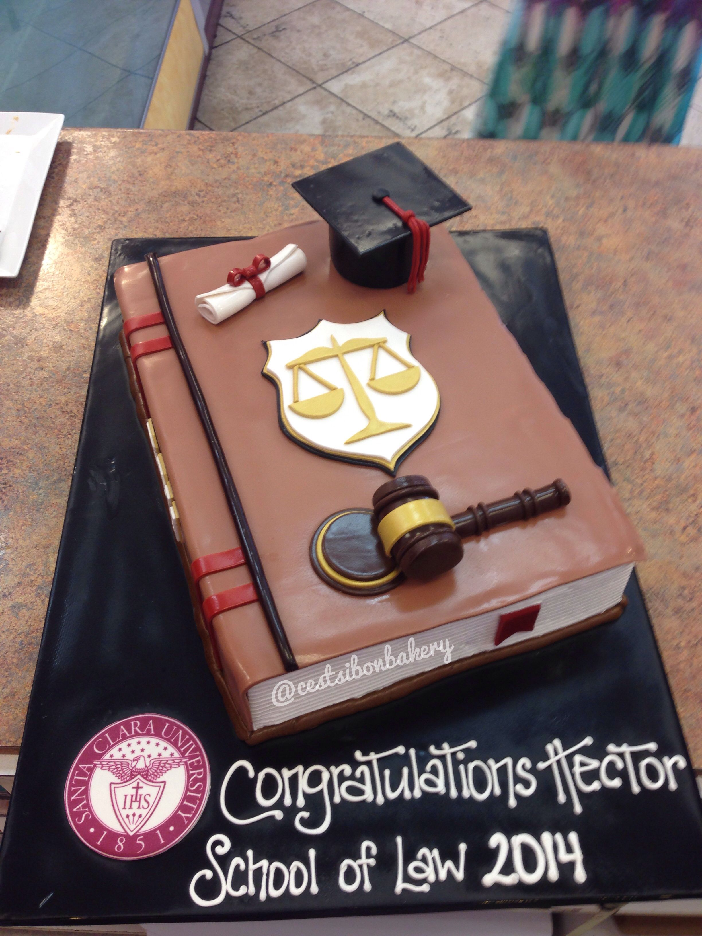 Law School Graduation Cake Law School Graduation Party