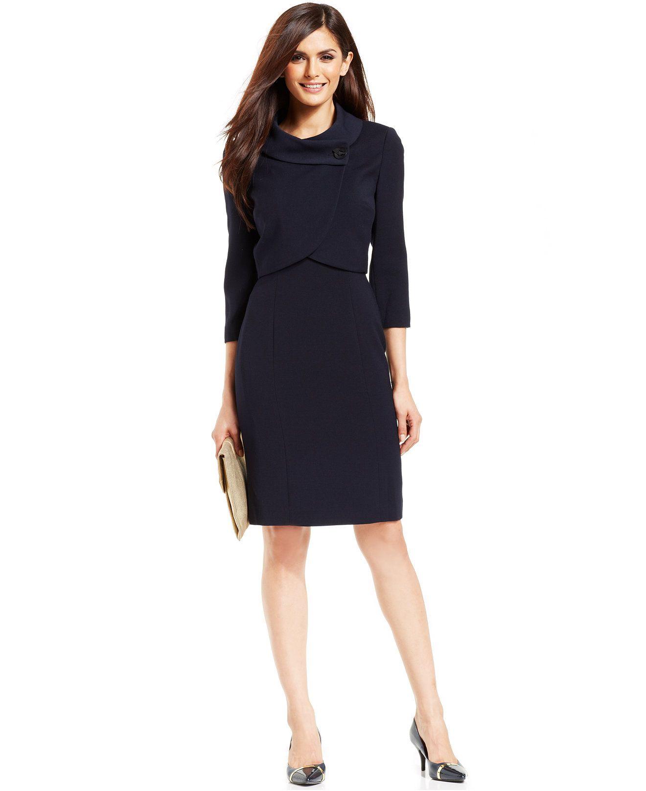 Tahari Asl Bolero Dress Suit All Suits Suit Separates Women