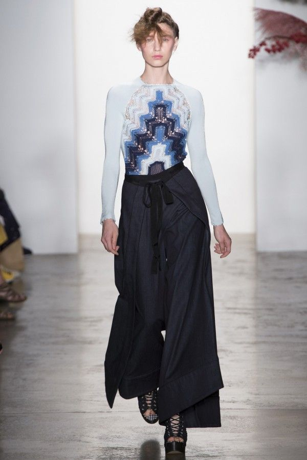 Adam Selman #Crochet #Fashion - Spring 2017