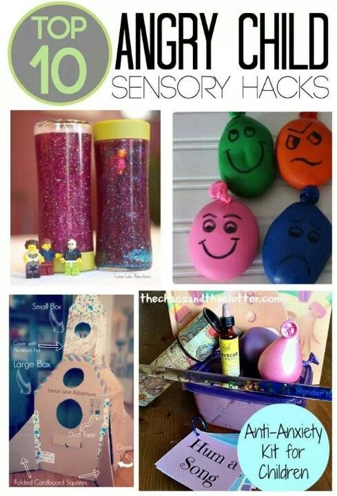 Angry child sensory play to calm kids down and help them learn to self soothe. This should come in handy for my youngest son! He's 20 months old and a ball of sunshine 98% of the time but goodness he has a hot temper.