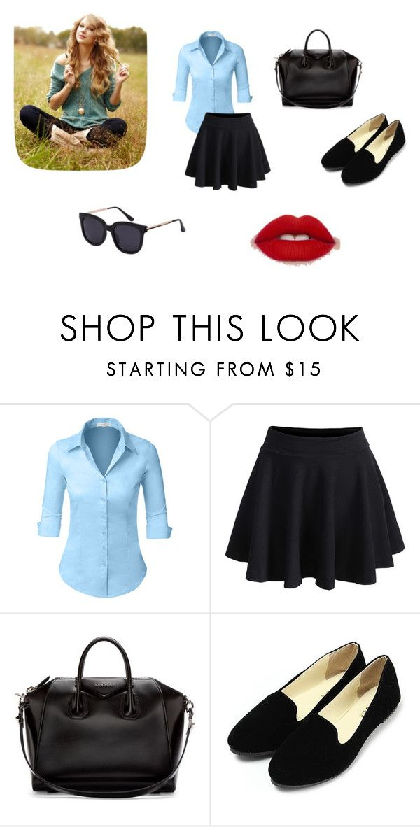 """""""Untitled #90"""" by electraz on Polyvore featuring LE3NO and Givenchy"""