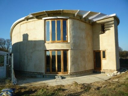 self build round house | Round house, Dome house, Earth ...