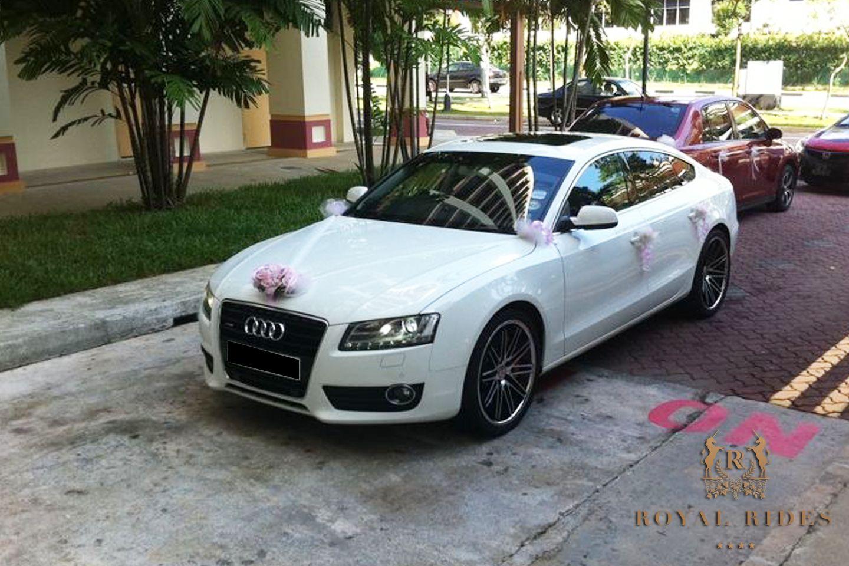 Audi A5 Luxury car rental, Wedding car, Car