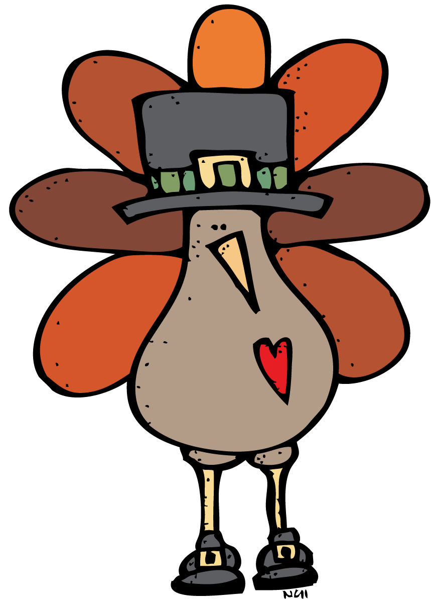 Pilgrim Turkey Clip Art Clip Art Thanksgiving Clipart