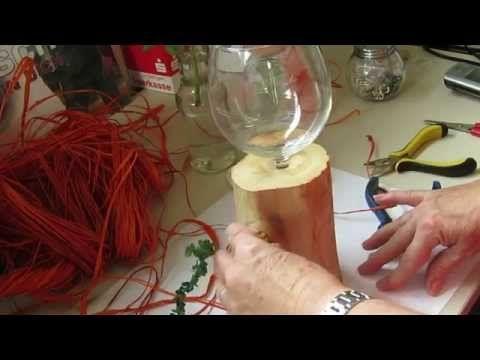 Weinflaschen-Sektflaschen-Recycling-Flaschen-Upcyceln-Windlichter -Glasobjekte und Accessoires - YouTube