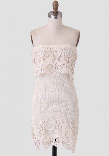 Myrtle Beach Crochet Dress Modern Vintage New Arrivals Clothes3