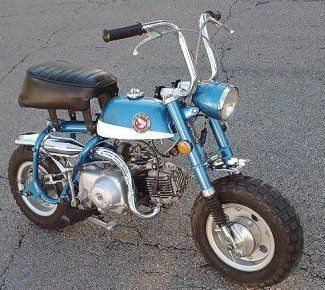 1970 Honda 50cc Mini Bike Honda Classic Bikes