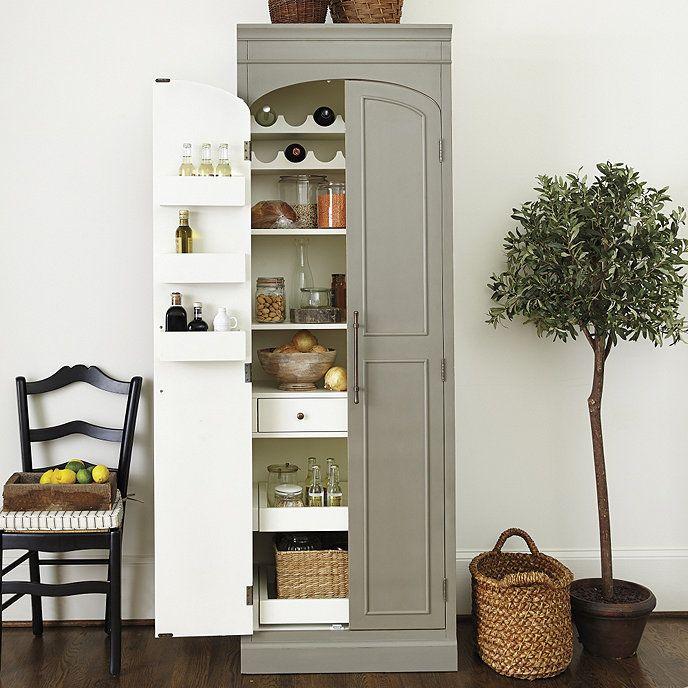 Paulette Kitchen Pantry Ballard, Kitchen Pantry Cabinet Ballard Designs