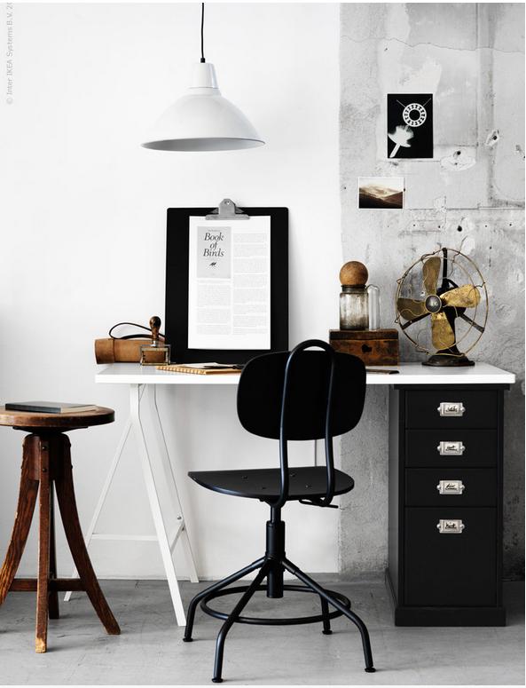 Http Www Poppytalk 2016 08 New Vintage Style Office Html Utm Source Feedburner