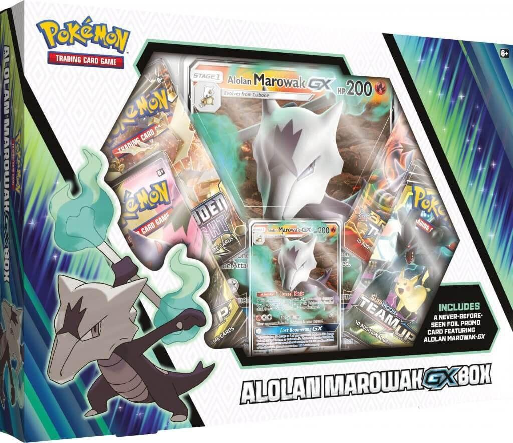 Neuf Pokémon Anglais Coffret Alolan Marowak GX