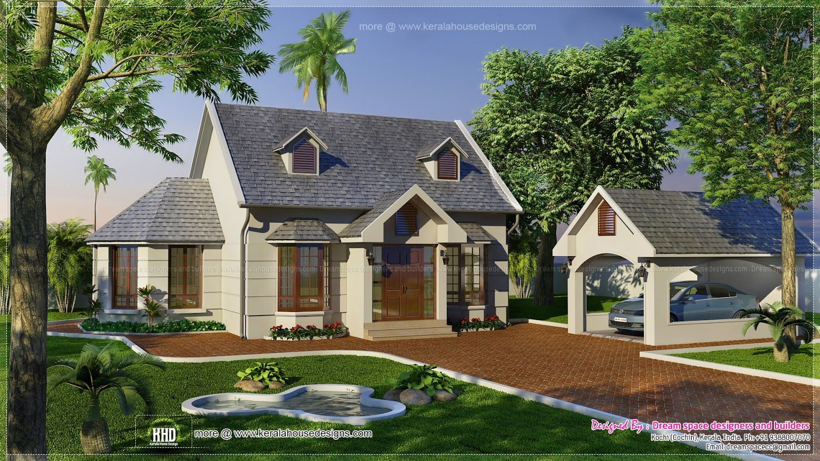 Simple Two Storey Dream House Design
