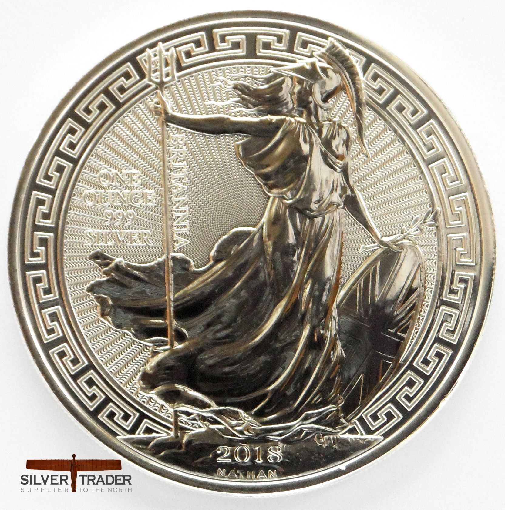 2018 Silver Britannia Oriental Border 1 Oz Silver Bullion Coin Silver Bullion Coins Bullion Coins Coins