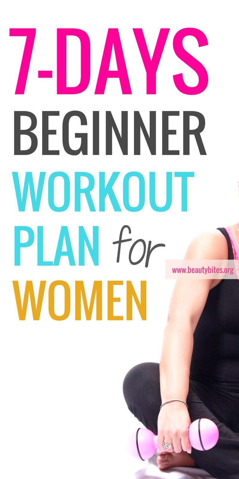 One Week Beginner Workout Plan For Women To Lose Weight - Beauty Bites