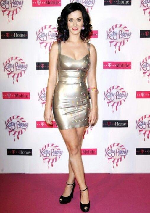 Katy Perry Latex Dress