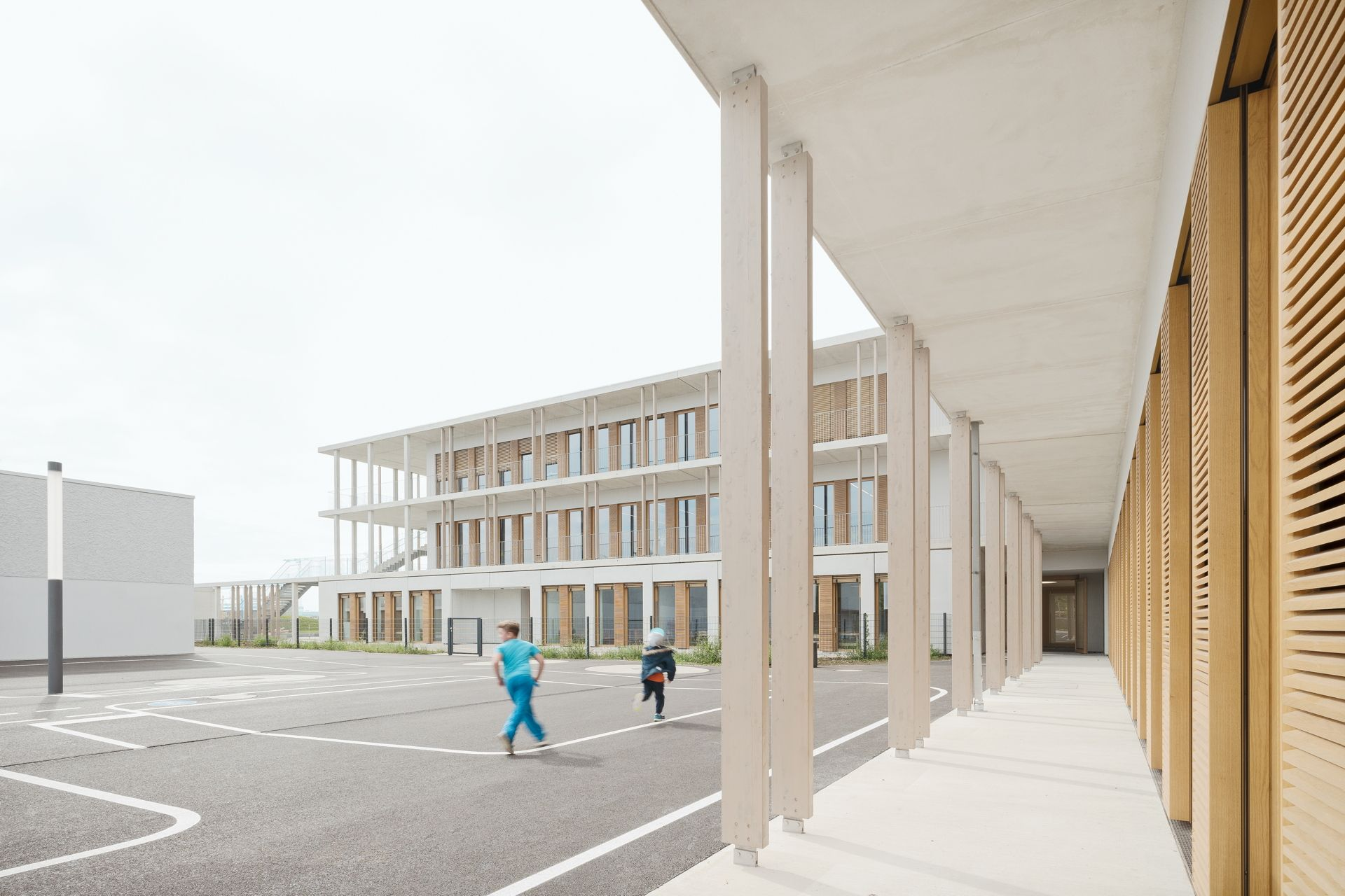 Winners And Commendations For The 2020 Architekturpreis Beton Germany Livegreenblog In 2020 School Architecture Primary School Modular Design