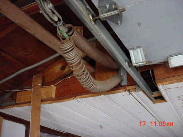 Broken Garage Door Spring Lighthouseshoppe Doors Pinterest