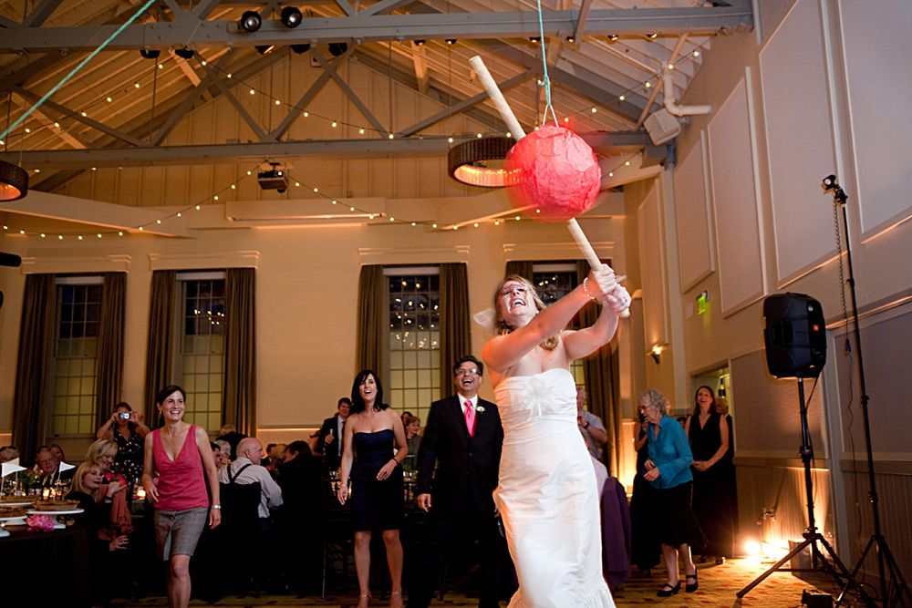 Wedding Pinata In Callippe Room At Cavallo Point