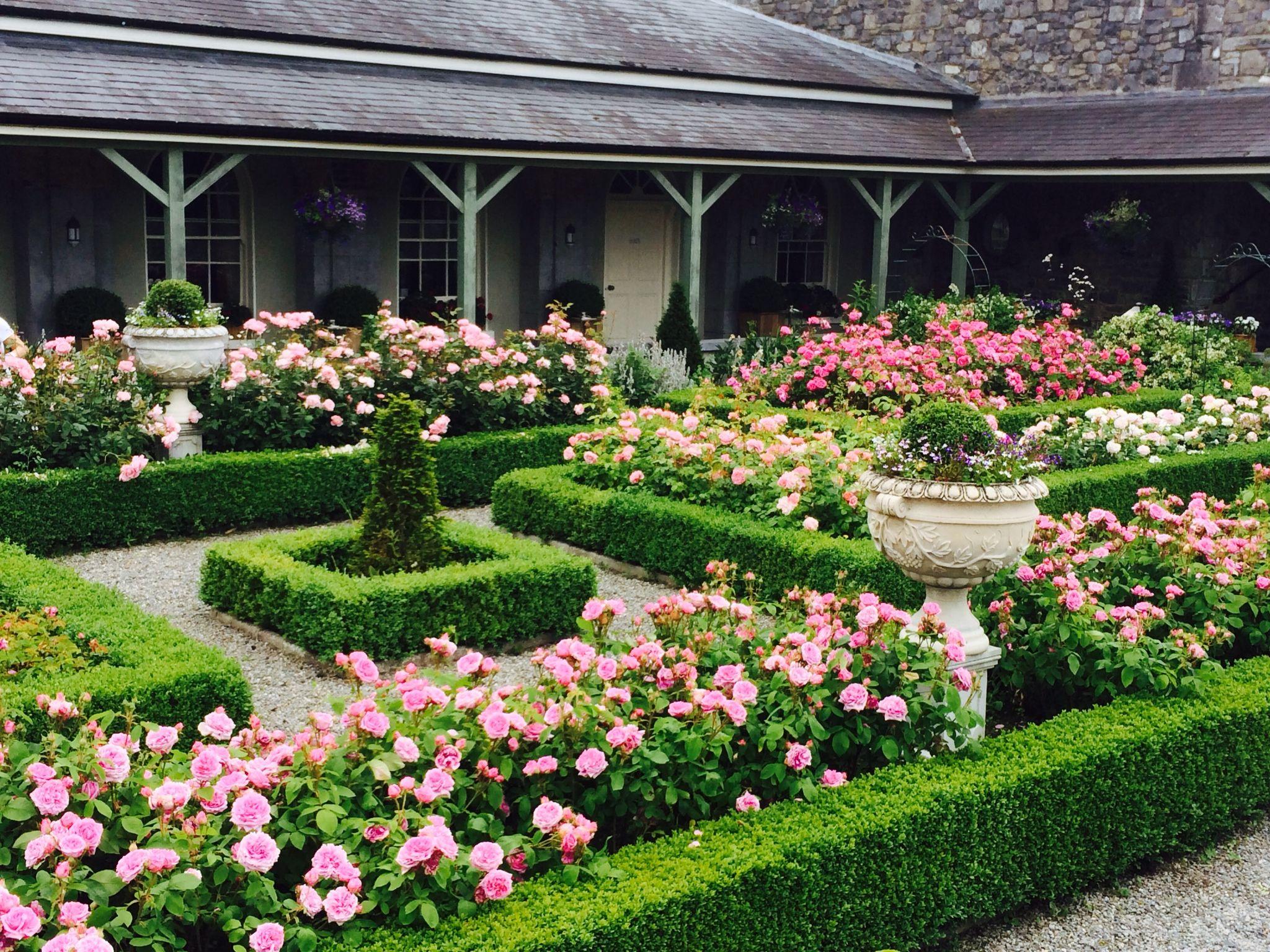 Castle Durrow Rose Garden Design Boxwood Garden Garden Design