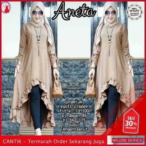 Jual Rrj256a228 Atasan Muslim Wanita Aneta Tunik Sk Bmgshop Pakaian Elegan Model Pakaian Wanita Model Pakaian