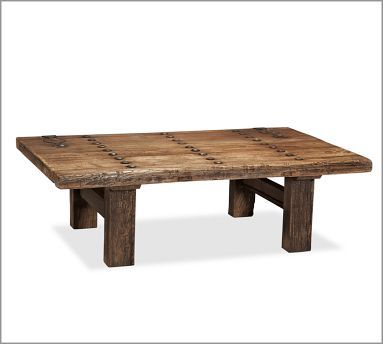 Pottery Barn Hastings Reclaimed Wood Coffee Table If I Had It My
