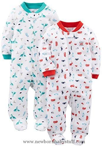 4a1b1a36eef9 Baby Boy Clothes Simple Joys by Carter s Boys Baby 2-Pack Cotton ...