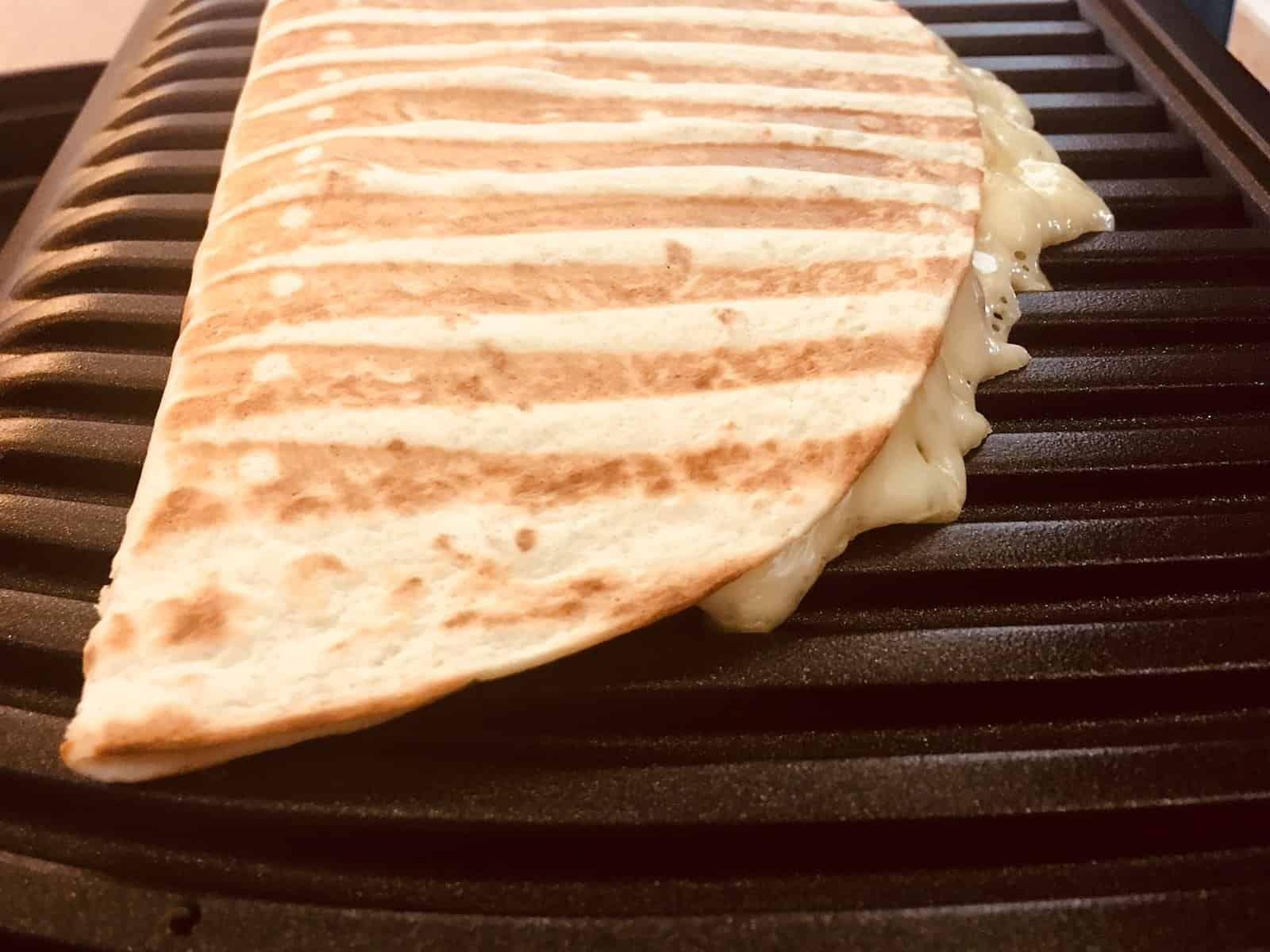 Quesadillas grillen mit dem Kontaktgrill - OptiGrill Rezepte