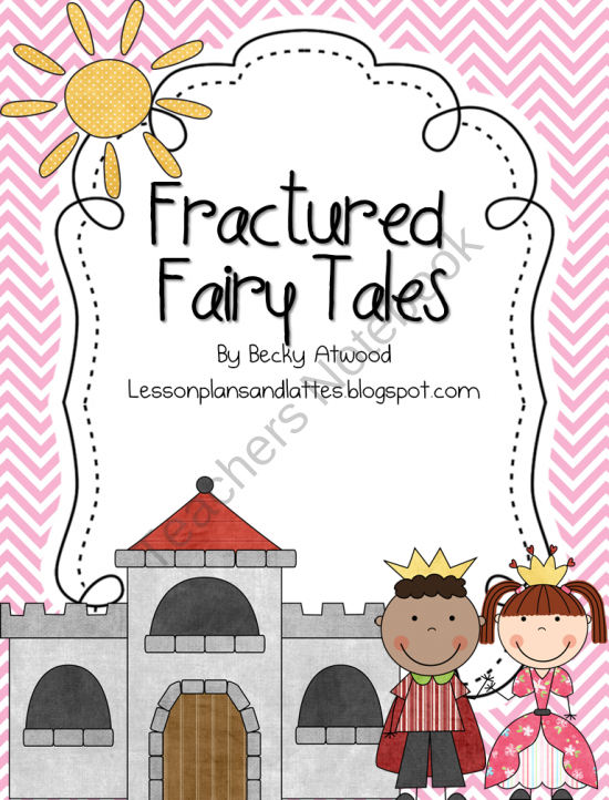 fractured fairy tales product from lesson plans and lattes on prek 8th. Black Bedroom Furniture Sets. Home Design Ideas