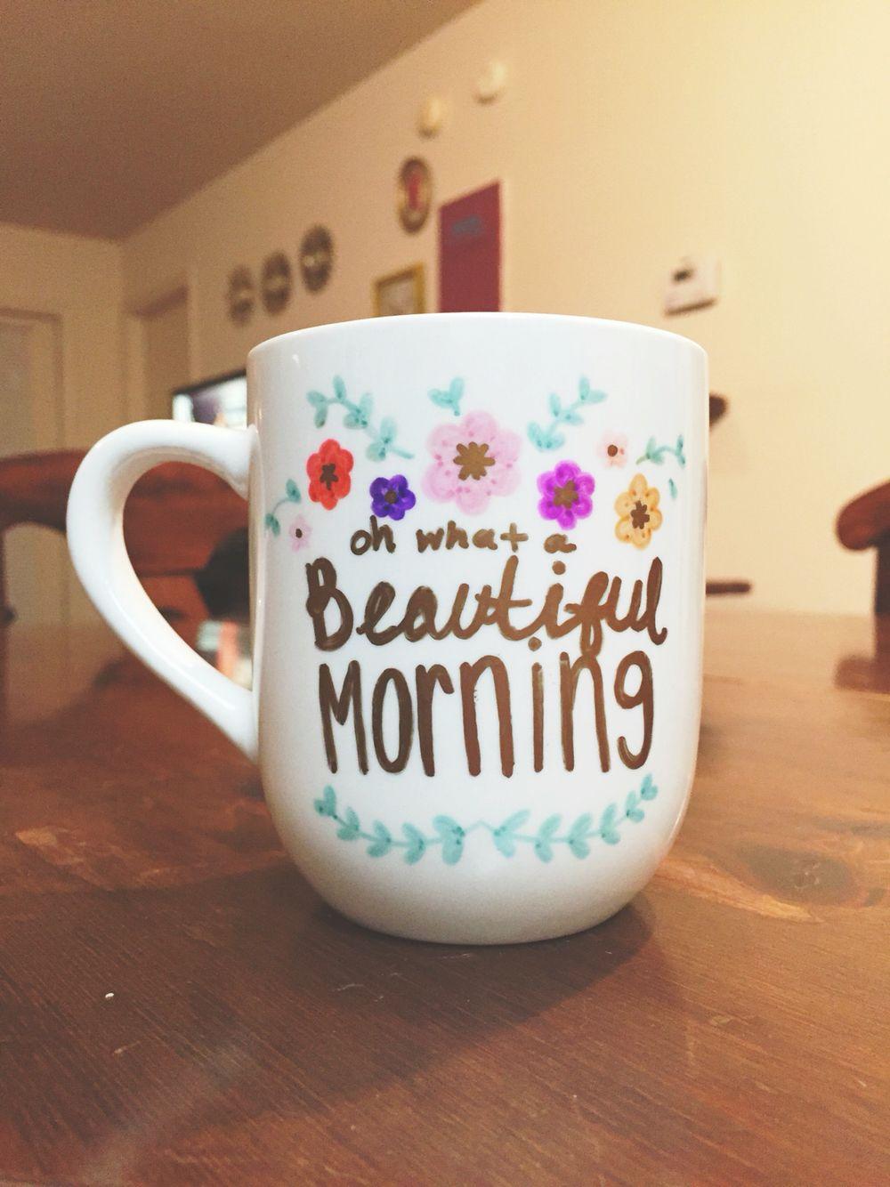DIY Sharpie Mug Diy mug designs, Diy sharpie mug