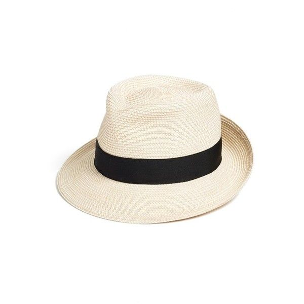3ed0c107f3c Eric Javits  Classic  Squishee Packable Fedora Sun Hat (26950 RSD) ❤ liked  on Polyvore featuring accessories