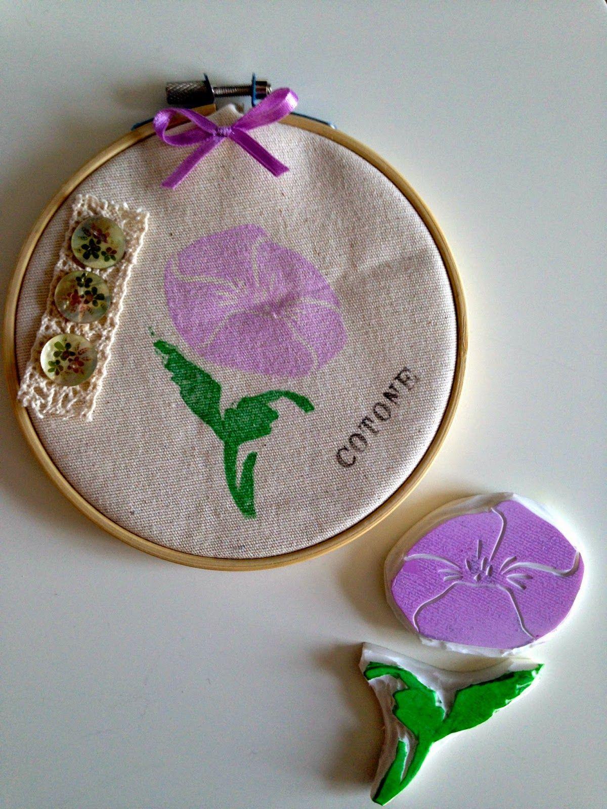 DIY: Ispirazione botanica: piante, fiori e idee da timbrare..