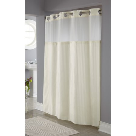 Home Fabric Shower Curtains Hookless Shower Curtain Curtains