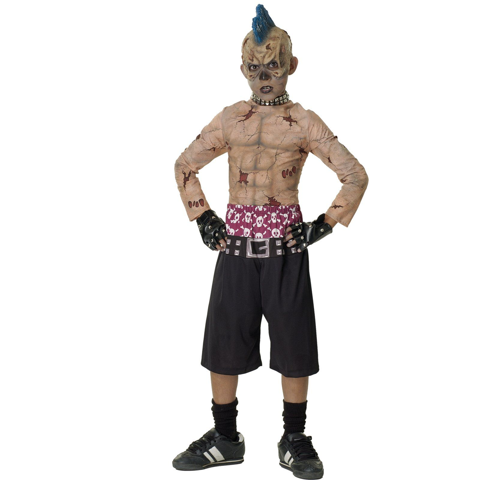 Zombie Skate Punk Boys Costume, RU882834, Halloween Costumes ...