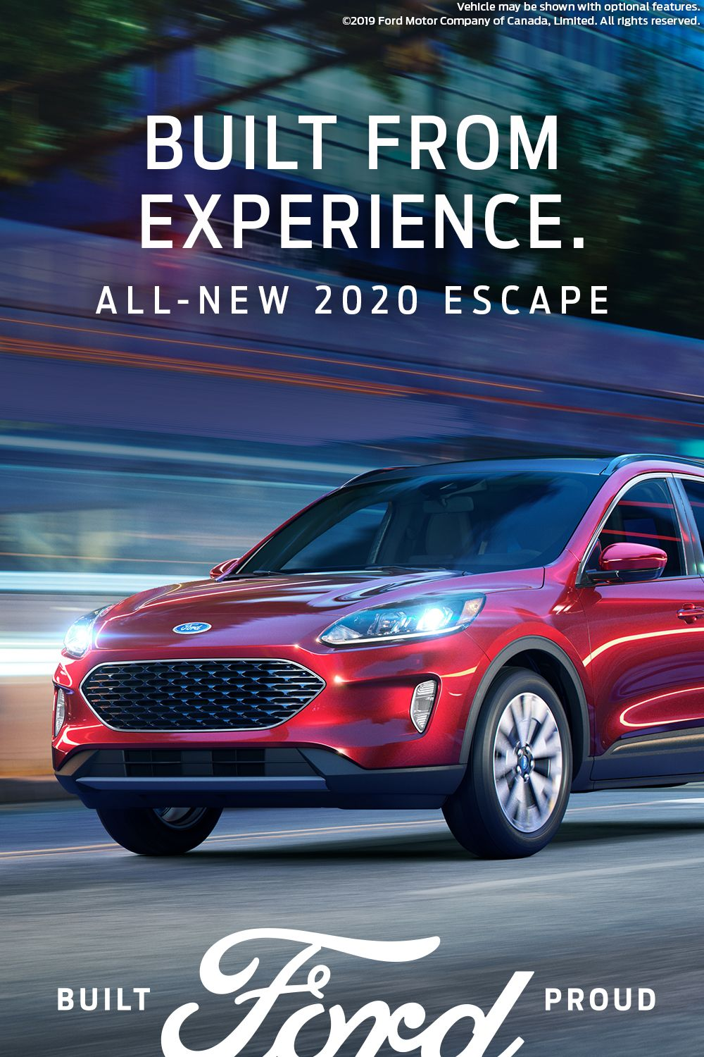 Feel More Confident In The All New 2020 Ford Escape In 2020 Ford Escape Bmw Classic Cars Ford