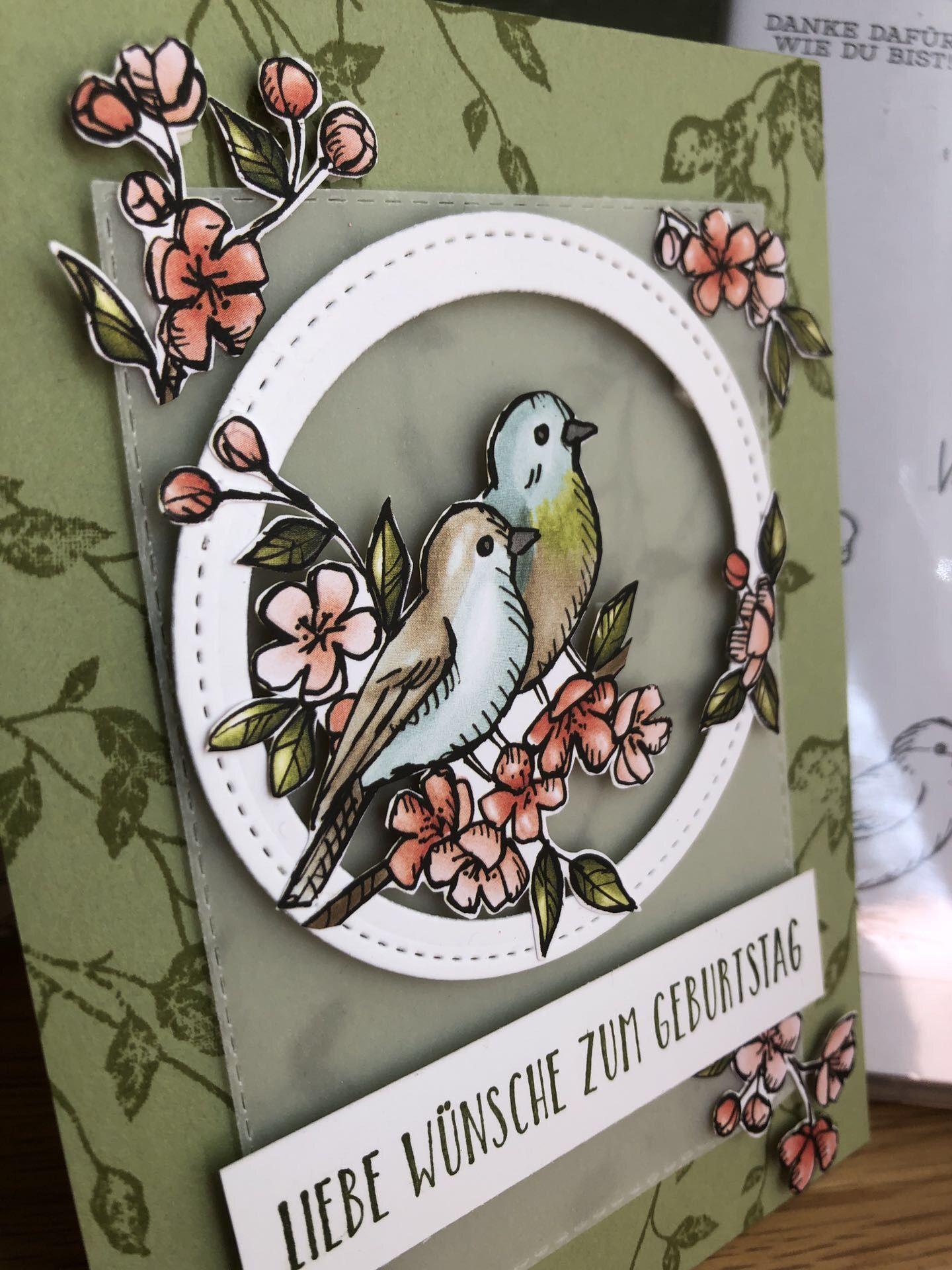 Photo of Grußkarte zum Geburtstag – Einfach zauberhaft, die Motive aus dem Designerpapie…