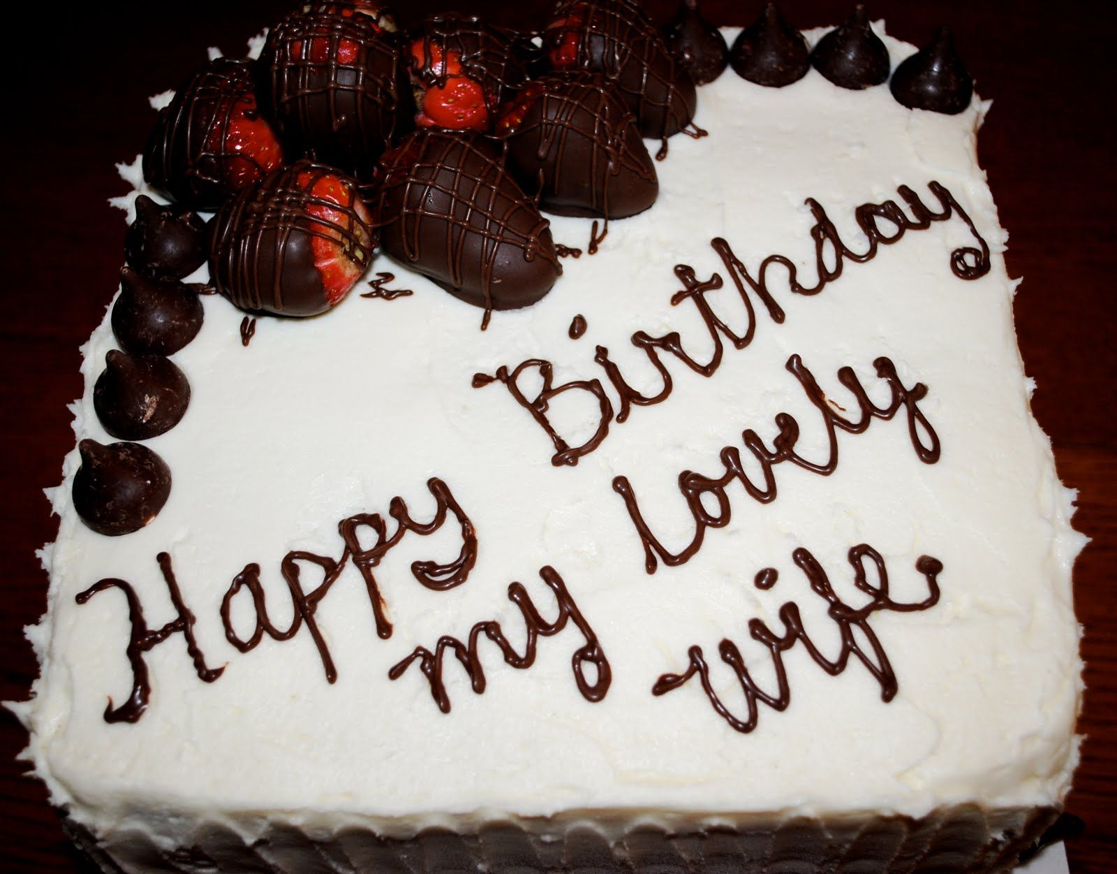 We Provide Hd Happy Birthday My Love Chocolate Cake Free For Your