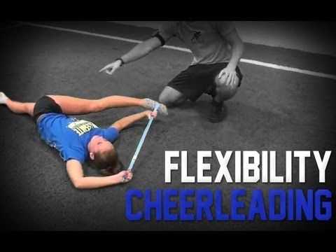 cheerleading  stretch routine  flexibility for better