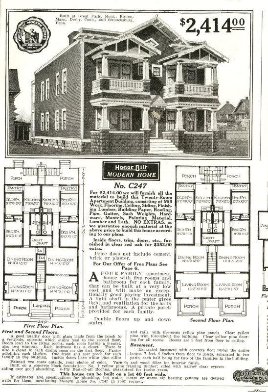 The Houses Of Sears Sears Modern Homes Vintage house