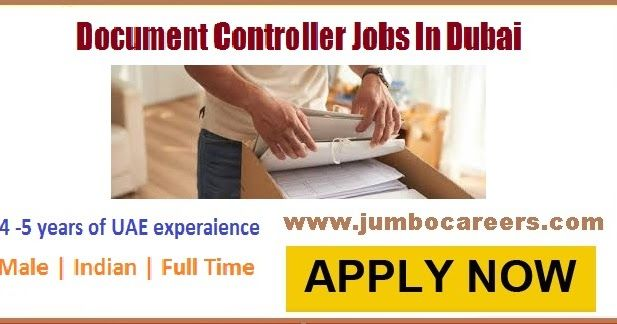 Civil Engineer Fascinating Document Controller Jobs In Dubai For April 2018 For Civil Engineers .