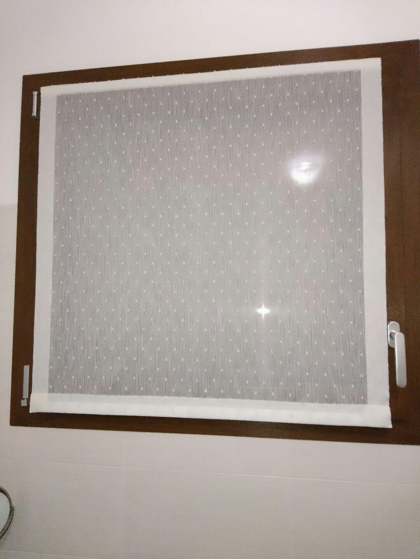 Tende a vetro e tendine per la cucina - MAPI Tende Magenta ...