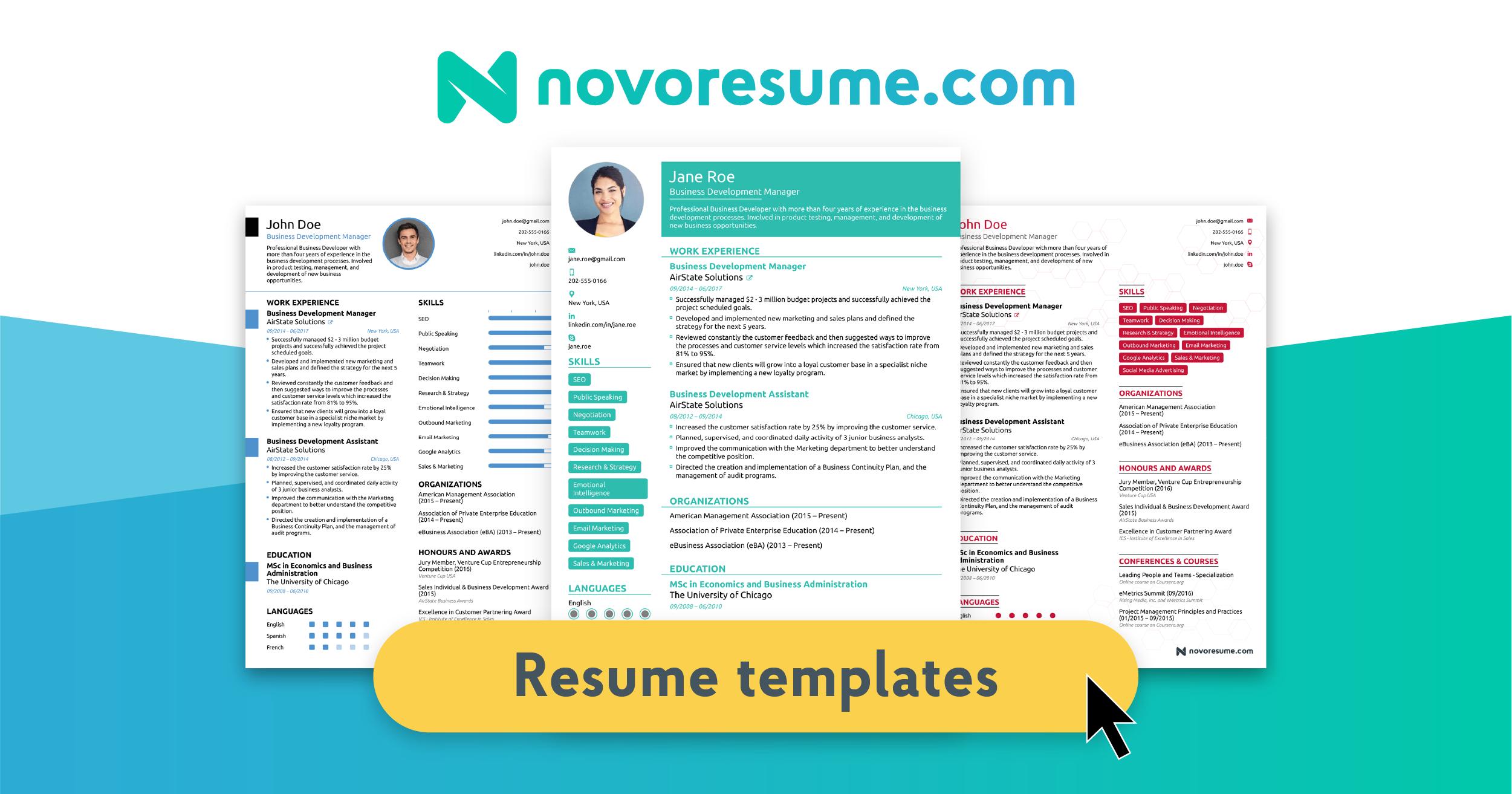 Resume Images Free Download
