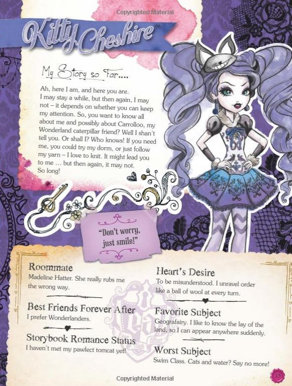 "showingmytruefeathers: "" Ever After High Annual 2015 book ..."
