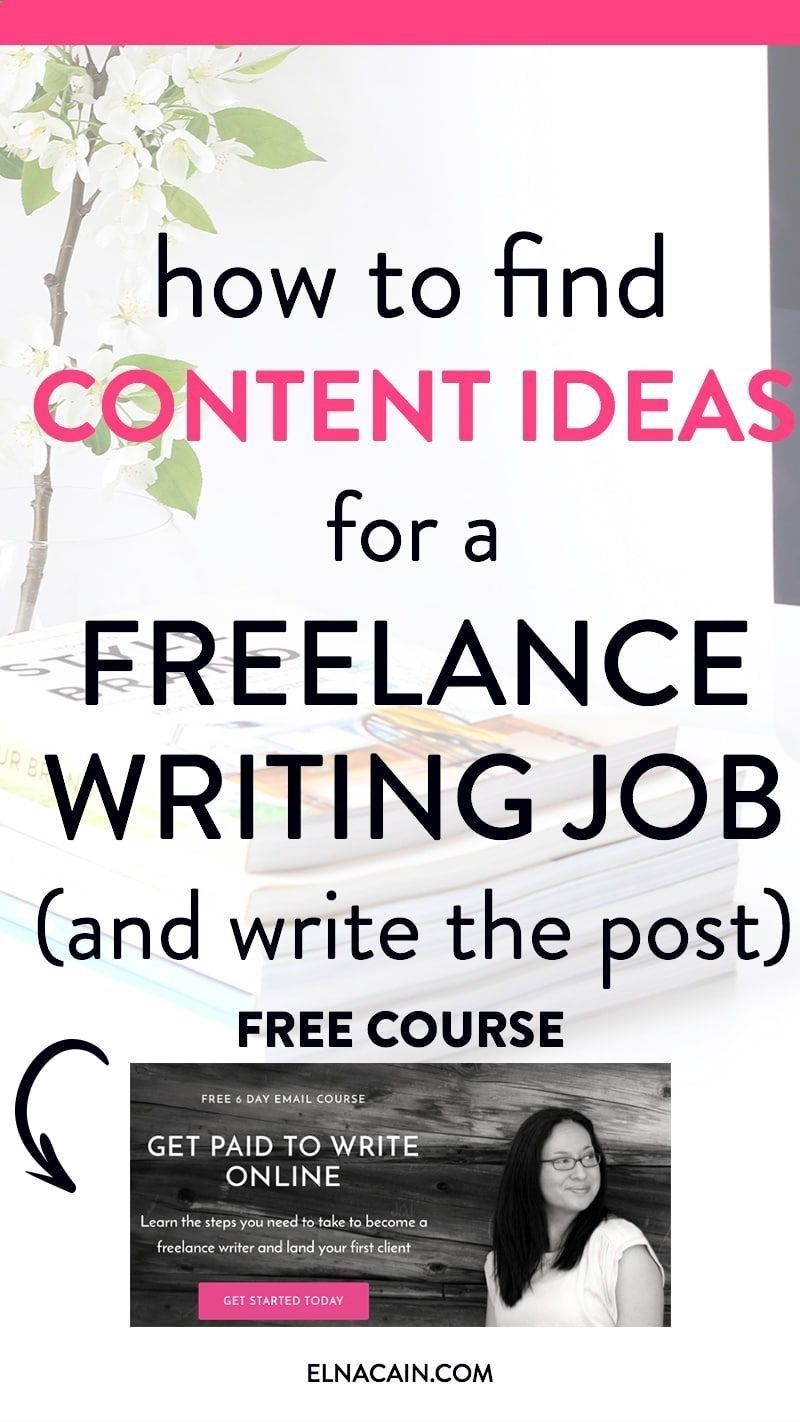 Just how to Develop Into A Freelance Writer