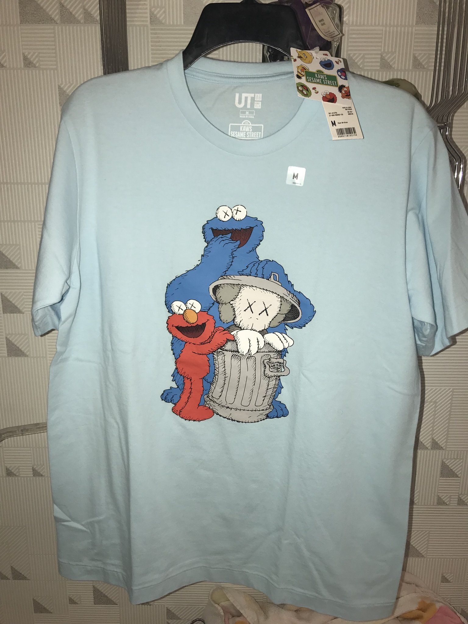 440638d58e0 Pin by Elevate Exchange on Kaws X Sesame Street T-Shirt
