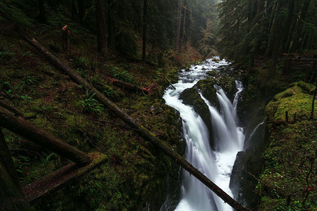 Sol Duc Falls, Washington   Flickr - Photo Sharing!