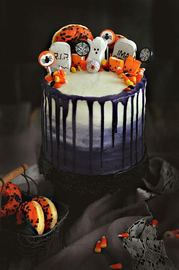 Blog Gastronómico Recetas Internacionales Para Hacer En Casa Recetas Dulces Para Halloween Pastel De Halloween Receta De Halloween