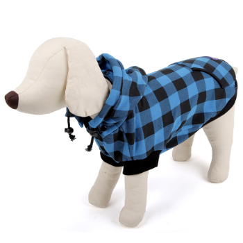 RSPCA World for Pets Lumberjack Hoodie Blue Pet
